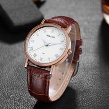 XIAOYA Top Fashion Brand Women Watch Female Clock With Leather Strap Watches Women's Wrist Hot Sale reloj mujer
