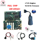 DHL free 921815C FULL CHIP V7.83 Lexia3 PP2000 For Citroen Peugeot With New Diagbox 1pcs lexia + 3pcs V5 Opcom + 1pcs OKI Chip