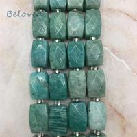 Polished Faceted Amazonite Nugget Loose Beads,Genuine Aquamarines Sunstone Quartz Gems Stone Jewelry DIY Beads, BG18299