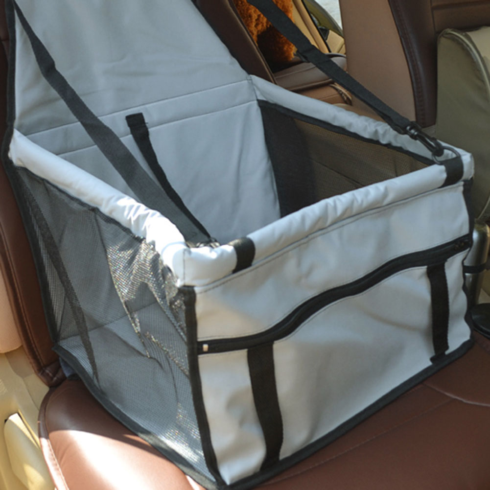 Asiento de coche para perros Impermeable Oxford Tela Pet Travel Mat plegable plegable lavable cubierta de la hamaca almohadilla de seguridad del coche para perro pequeño