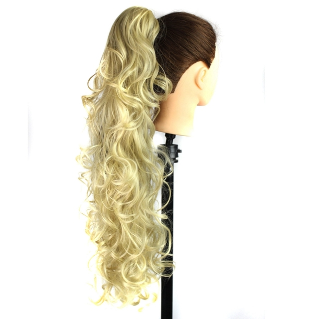 Luxury for Braiding 30inch 210g  Long Wavy High Temperature Fiber Synthetic Hair Pieces Claw Clip Ponytail Extensions for Women 5