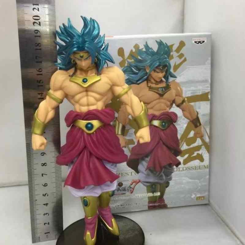 18 cm Azul Brolly Dragon Ball Anime Japonês Figuras de Ação Brinquedo Figuras Kakarotto Vegeta Pvc Modelo Coleção Melhor Presente de Aniversário