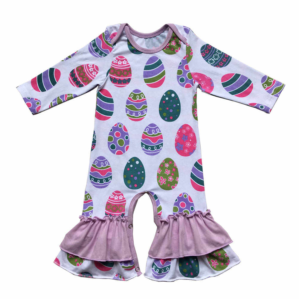 a1b9f6a9a5d0 Donuts Valentines day baby Leg romper Fall Baby Gift easter Day girls gown  clothing Jumpsuit newborn