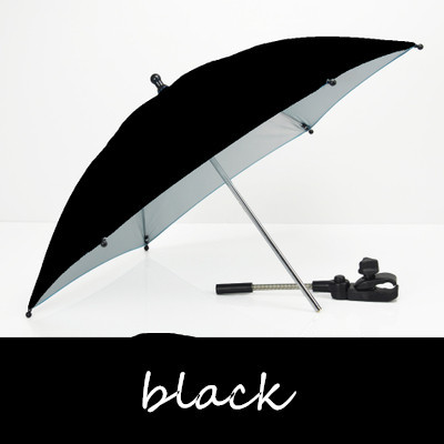Carrinho de bebê Acessórios Parasol Guarda-chuva Colorido Crianças Crianças Sombra Carrinho De Bebê Dobrável Ajustável Para Cadeira Sólida 7 Cores Protable