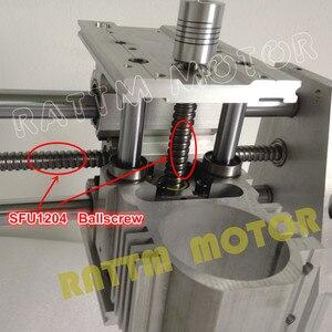 Image 3 - EU Ship free VAT DIY 3040 CNC router Engraver Engraving milling machine mechanical aluminium Frame SFU1204 ballscrew CNC Kit