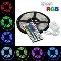 5m 12V 5A Waterproof IP65 5050 RGB SMD LED Flexible Strip light 300 LEDs + 44 Key IR Remote Controller