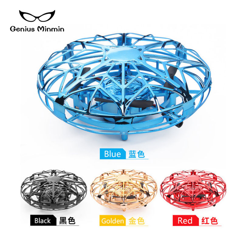 Image 2 - Mini infrared stainless steel induction drone HD suspension aircraft UFO model toy adult children birthday gift-in RC Airplanes from Toys & Hobbies