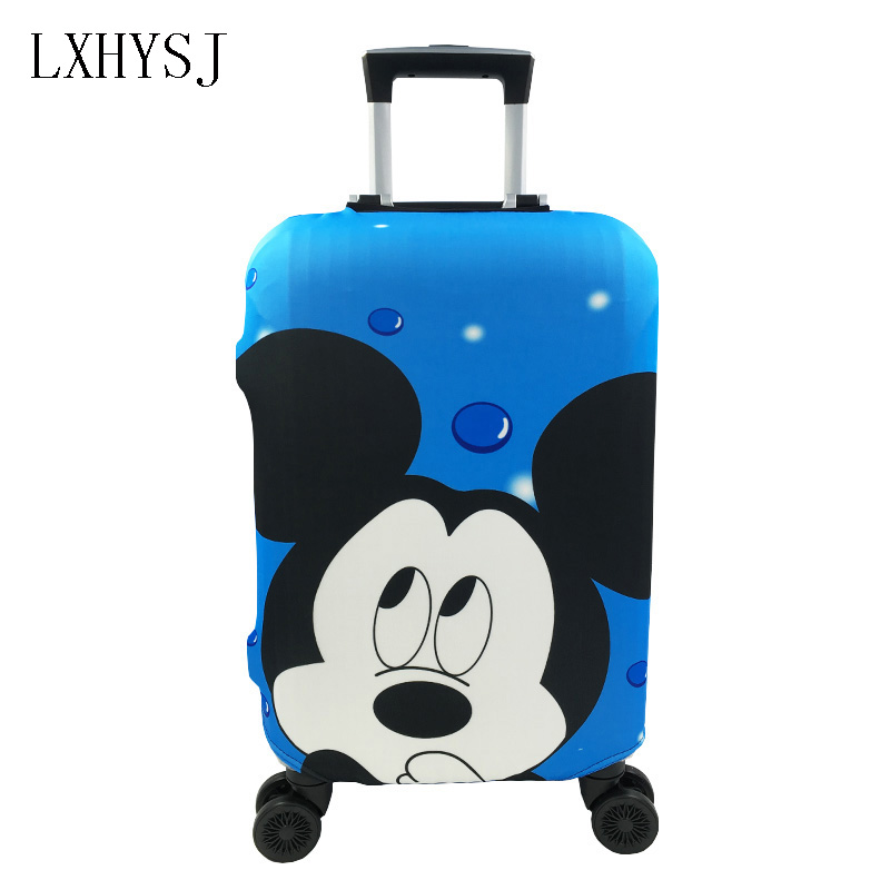 Minnie Mickey Elasticity Luggage Protective Covers Suitcase Dust Cover 19-32 Inch Luggage Cover Suitcase Case Travel Accessories