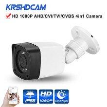 Full HD 1080P AHD/TVI/CVI/CVBS output CCTV camera 4 in 1 ov/sony sensor iption 3.6mm HD 2MP Lens Plastic security CCTV hot sales