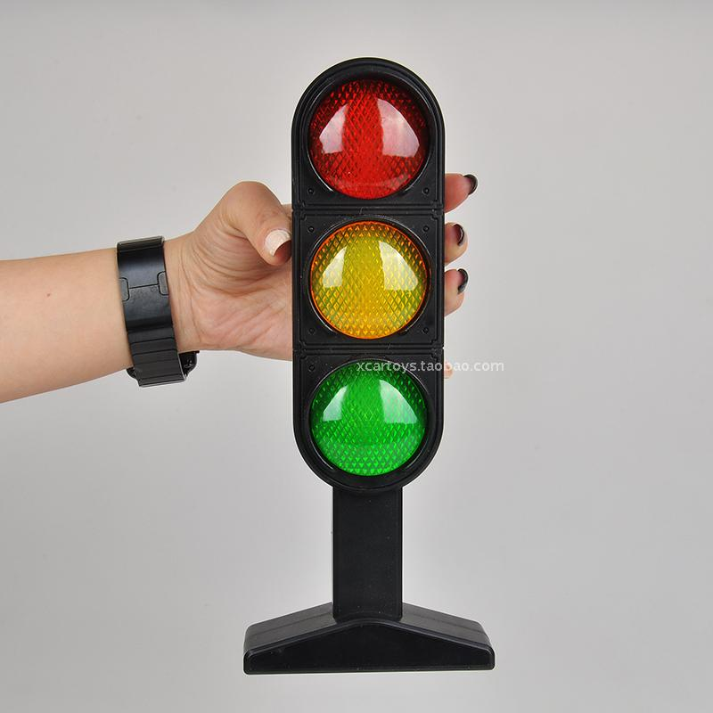 plastic electric Childrens toys lights traffic sign traffic lights toy light sounding voice interpretation aids
