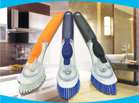 FREE SHIPPING Bristles Non Stick Oil Of Automatic Hydraulic Cleaning Pot Brush Decontamination Cleaning Up The