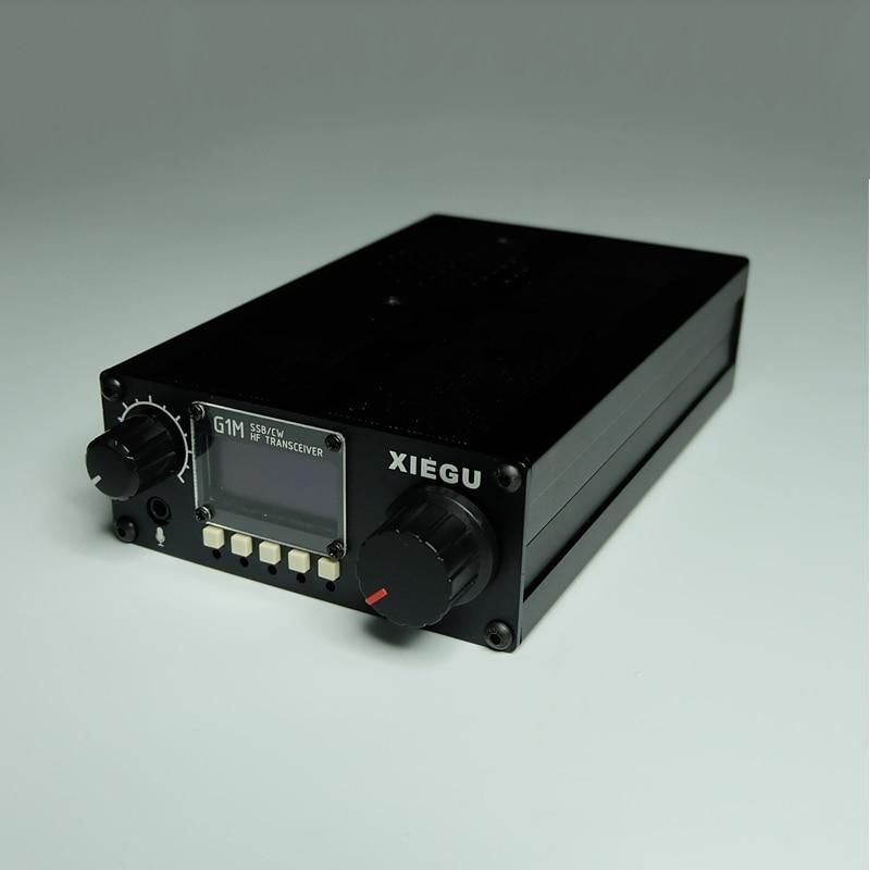 La nouvelle Version XIEGU G1M SSB/CW/SDR 0.5-30 MHz HF émetteur-récepteur édition platine 3.01b QRP HF SSB CW SDR radioamateur