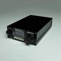 XIEGU G1M SSB/CW 0,5 30 МГц HF приемопередатчик Платиновое издание 3.01b QRP HF SSB CW любительский радиоприемник