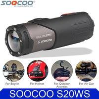 Original SOOCOO S20WS Wifi Sports Action Video Camera Waterproof 10M 1080P Full HD Bicycle Cycling Helmet Mini Outdoor Sport DV