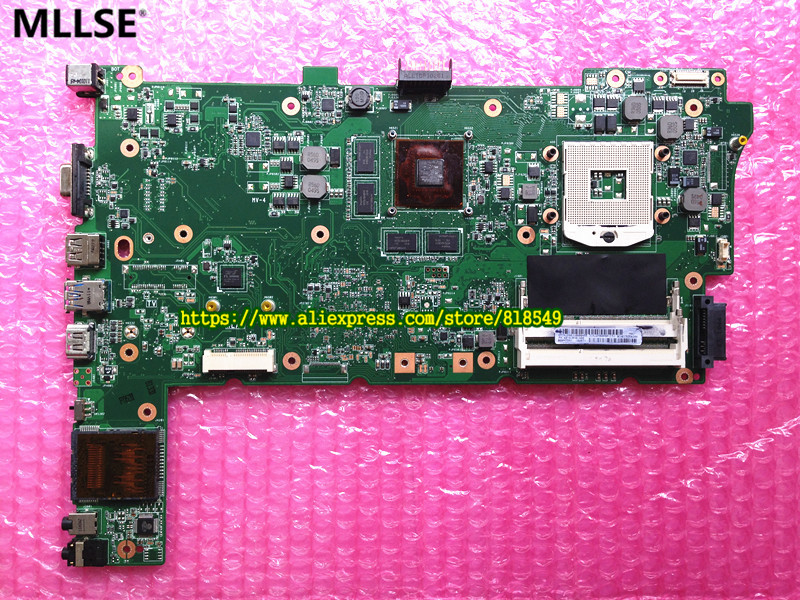 где купить  Original N73SV REV2.0 Laptop Motherboard FIT for Asus N73SV Notebook PC Mainboard GT540 1G PGA 989 2DDR3  дешево