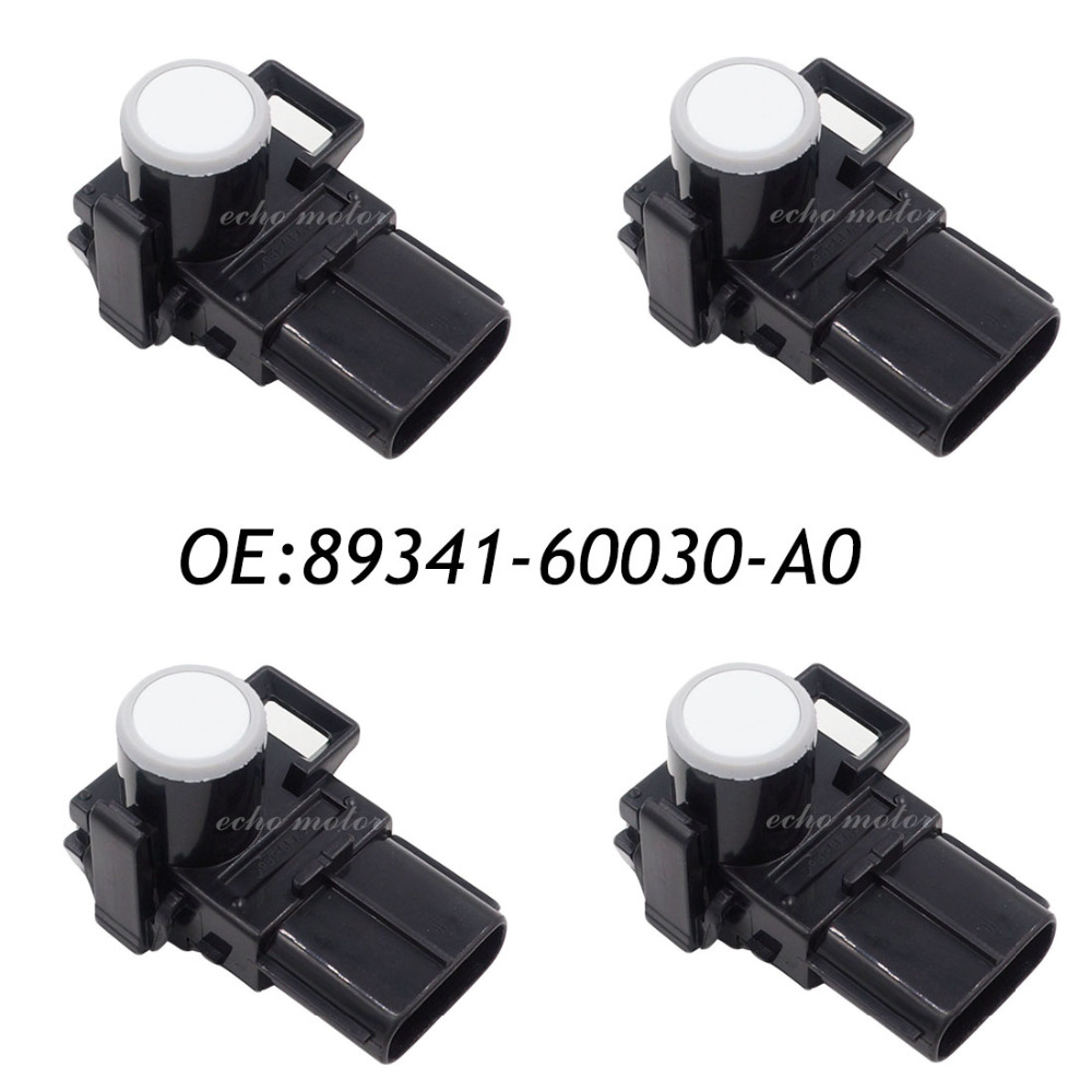 New 4pcs 9341-60030-A0 89341-60030 Parking PDC Ultrasonic Sensor For Toyota Land Cruiser Prado 2012-2013 188400-1970 4 pcs auto parts new original ultrasonic parking sensor 89341 76010 c0 89341 76010 8934176010 for lexus gs450 hybrid