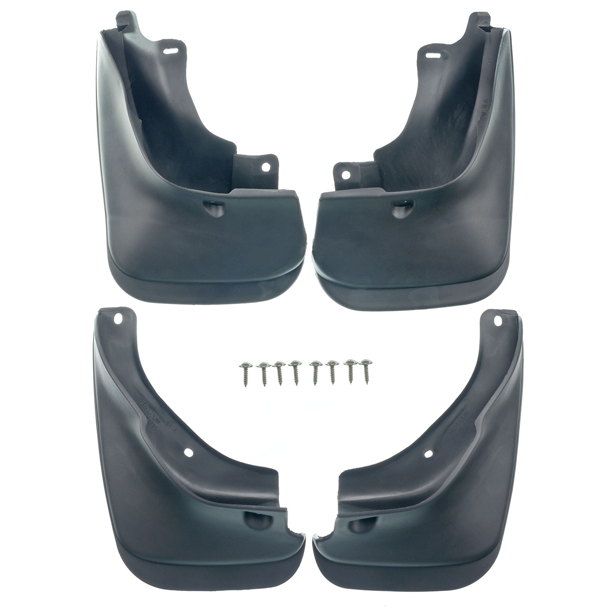 Set of 4 Front and Rear Mud Flaps Splash Guard for 1993-1997 Toyota Corolla Wagon