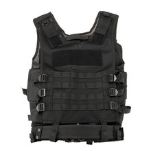 JHO-Outdoor Military Tactical Army Polyester Airsoft War Game Hunting Vest for Camping Hiking