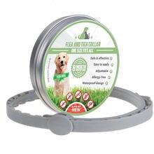 Безопасный и эффективный ошейник для собак устойчивый к насекомым