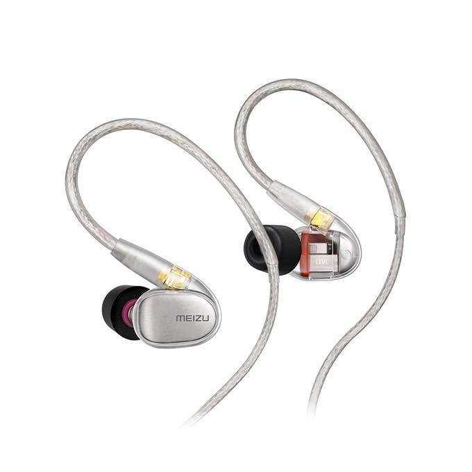Image 4 - Original Meizu Live Quad Driver Earphone HiFi Professional Monitor Audiophile Earphones Four Unit Balanced Armature for phonePhone Earphones & Headphones   -
