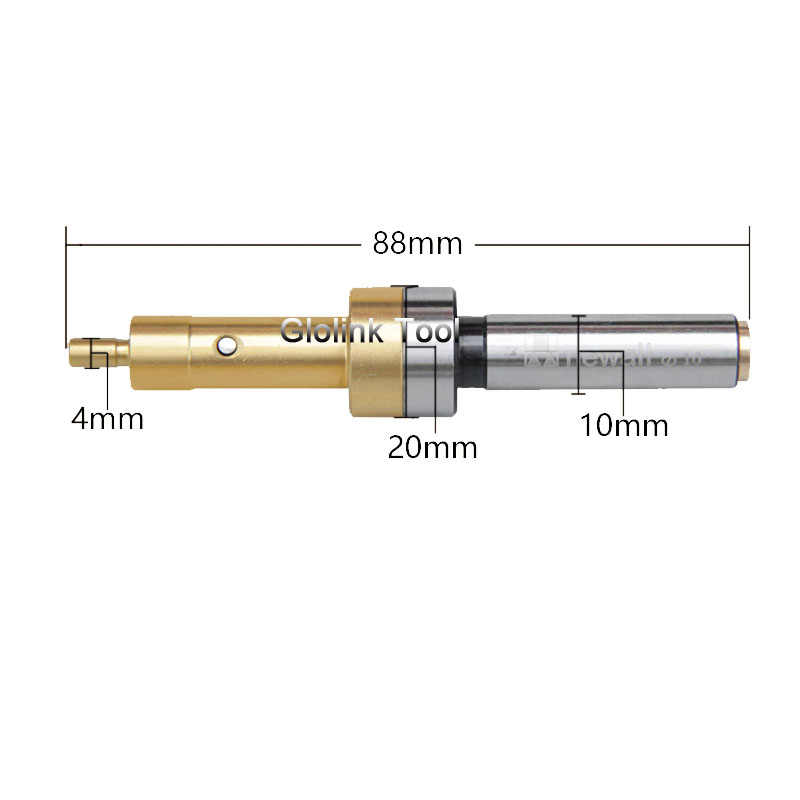 And Hardend 10mm Mechanical Edge Finder For CNC Milling Lathe Machine Power Tool