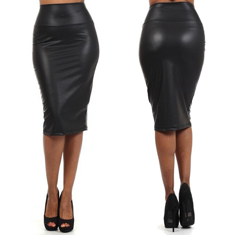 f84c506666 Aliexpress.com : Buy New Designer Fashion OL Skirts Faux Leather European  And American Style High Waist Skirt WF 5192 from Reliable ol skirt  suppliers on ...