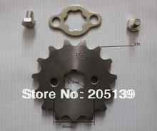NEW 15 t tooth 17MM FRONT ENGINES sprocket FOR 420 CHAIN motorcycle MOTO PIT dirt ATV parts bike