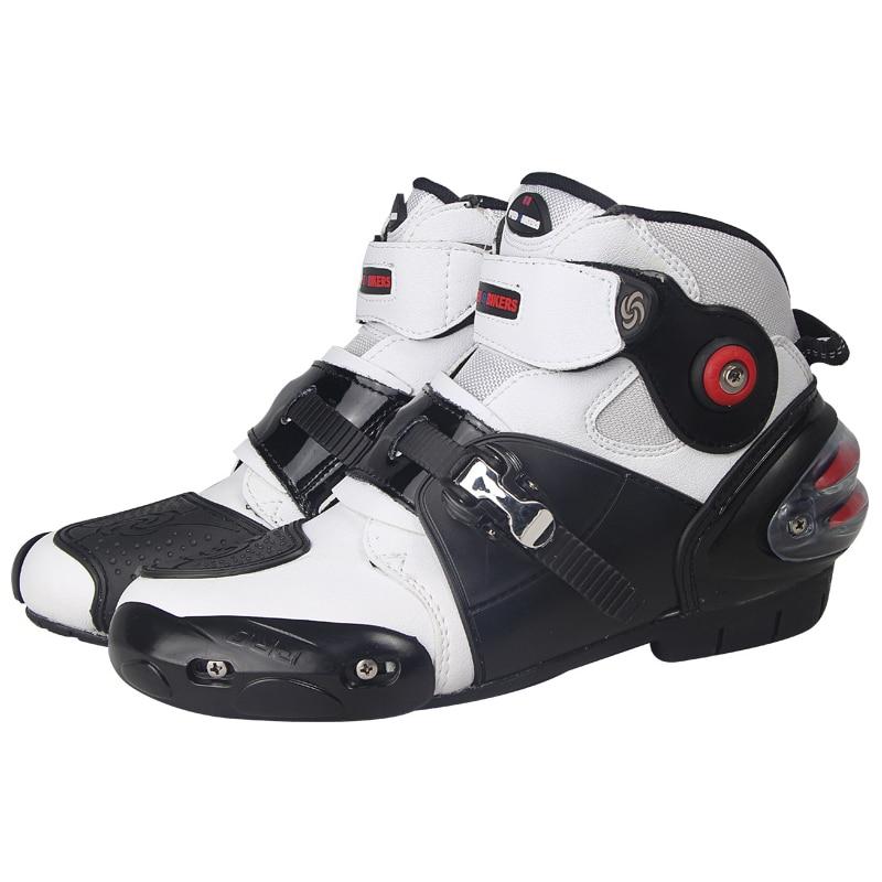 Motorcycle Non slip boot Professional boots SPEED motobotinki Racing boot Motocross moto shoes Motorbike boots