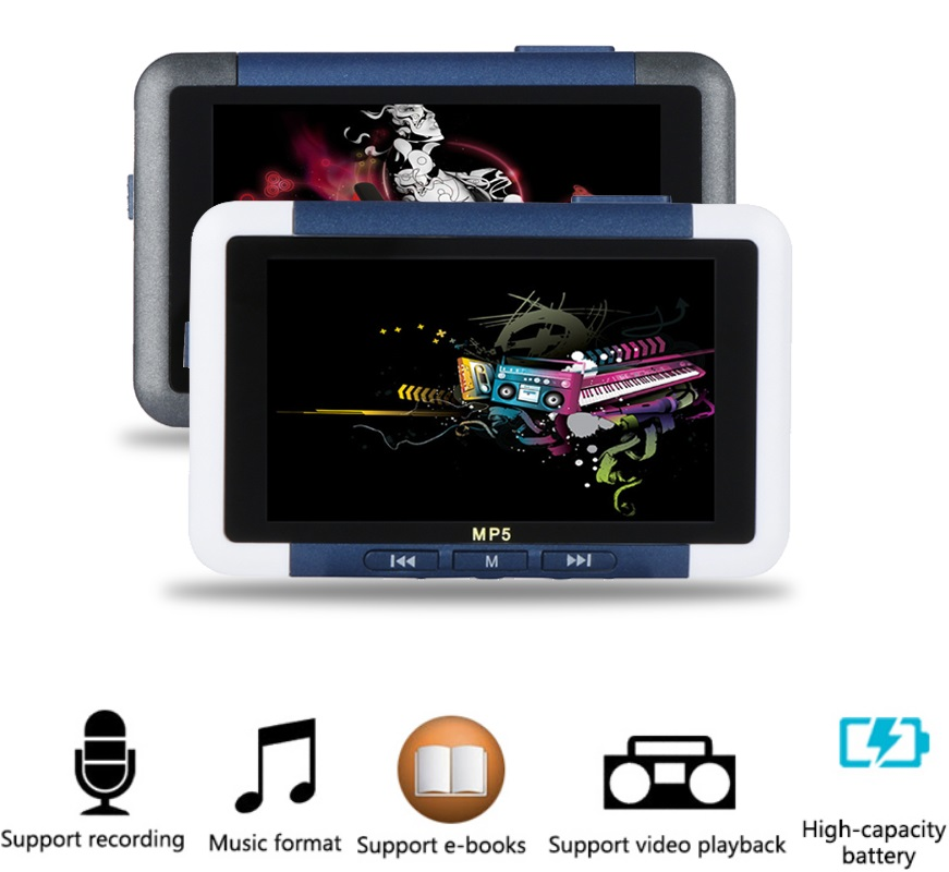 Unterhaltungselektronik Humor 3 Zoll Lcd 8 Gb Speicher Fm Radio Video Recorder Media Mp3 Mp4 Player Mit E-book Schrumpffrei Mp4 Player