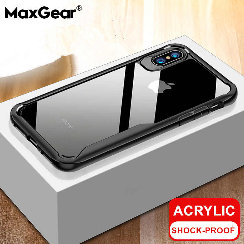 Luxe Shockproof Bumper Transparant Siliconen Case Voor Iphone 11 Pro X Xs Xr Xs Max 8 7 6 6S plus 5S Clear Bescherming Back Cover