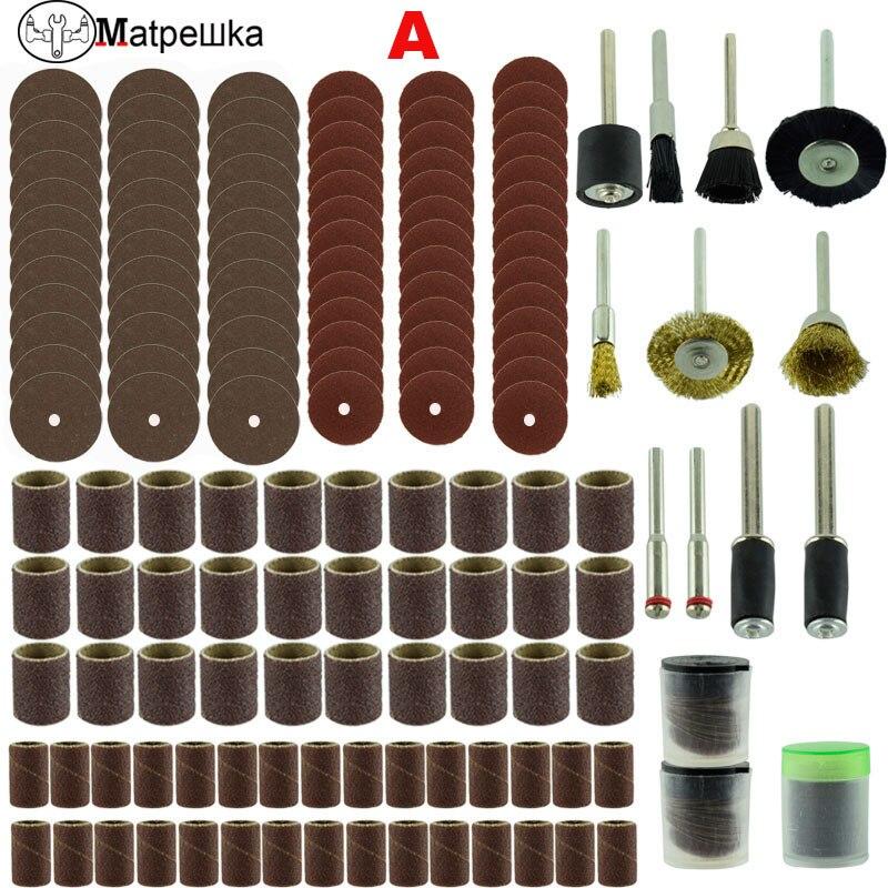 Dremel 150 Pcs Bois Métal Gravure Électrique Rotatif Outil Accessoire pour Forage Broyage De Polissage Dremel Accessoires