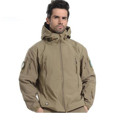 lurker shark skin soft shell casual jacket male military tactics hunter army camouflage against wind windbreaker kamuflaj mont