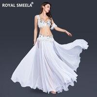 Женский костюм для танца живота для девочек королевская танцевальная одежда для танца живота снежные костюмы сценическая юбка для танца жи