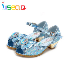 Girls sandals children else and anna shoes for girls fashion summer cartoon shoes toddler chaussure enfants fille sandalias цены онлайн