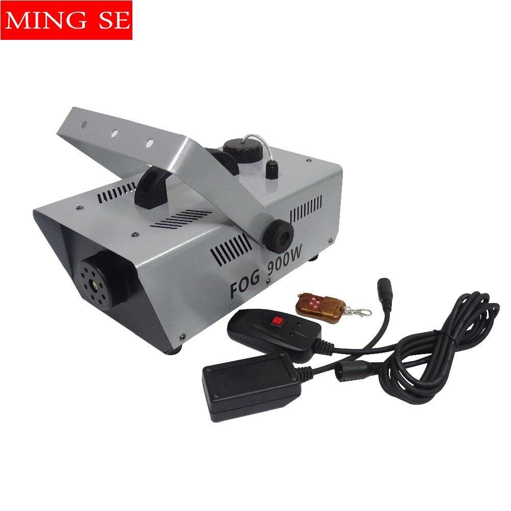 900w Smoke Machine Remote or Wire Control Fog Smoke Machine DJ /Bar /Party /Show / Professional stage equipment