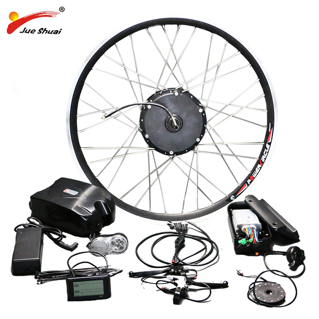 E Bike 48v 350w 500w Motor Wheel Electric Bike Kit Electric Bicycle