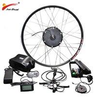 E BIKE 48V 350W 500W Motor Wheel Electric Bike Kit Electric Bicycle Conversion Kit for 20 26 700C 28 29inch Front Wheel Motor
