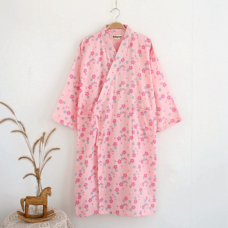 floral robe for women