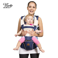 Safe Front Facing Baby Carrier Infant Comfortable Sling Backpack Pouch Wrap Breathable Multifunctional Baby Waist Stool