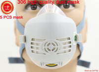 YIHU Respirator Dust Mask High Quality PM2 5 Dust Smoke Respirator Mask Silicone Activated Carbon Filter