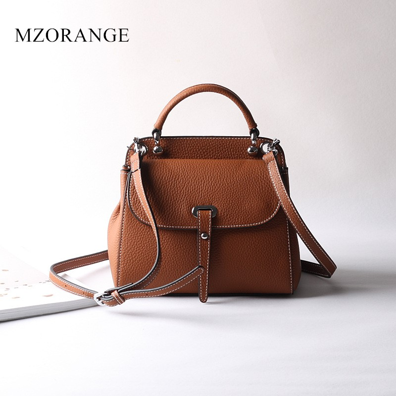 2018 New Design Genuine Leather Women's Handbag Small Flap Shoulder Bags Tote Fashion brand Ladies Vintage mini Crossbody Bags nucelle brand design vintage luxury leopard with horse coat cow leather women ladies handbag shoulder crossbody flap bags