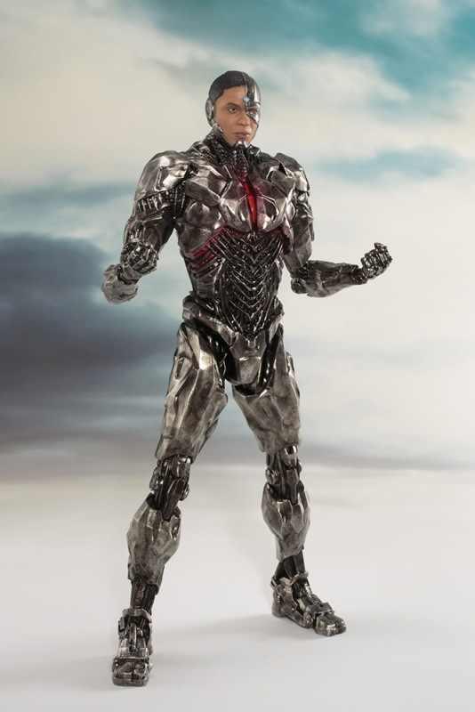 DC Super Herói Figura de Ação Da Liga Da Justiça Cyborg Victor Stone Ação PVC Figuras Coleção Modelo Toy Presente