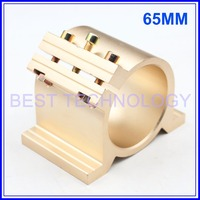 Gold Type 65 Mm Fixture CNC Spindle Motor Clamping Bracket Cnc Machine Tool Spindle Motor 65mm