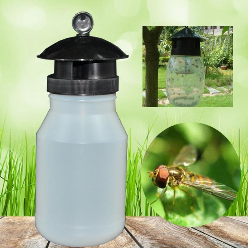 New Needle Bee Flies Special Insect Trap Outdoor Portable Plastic Fly Catcher
