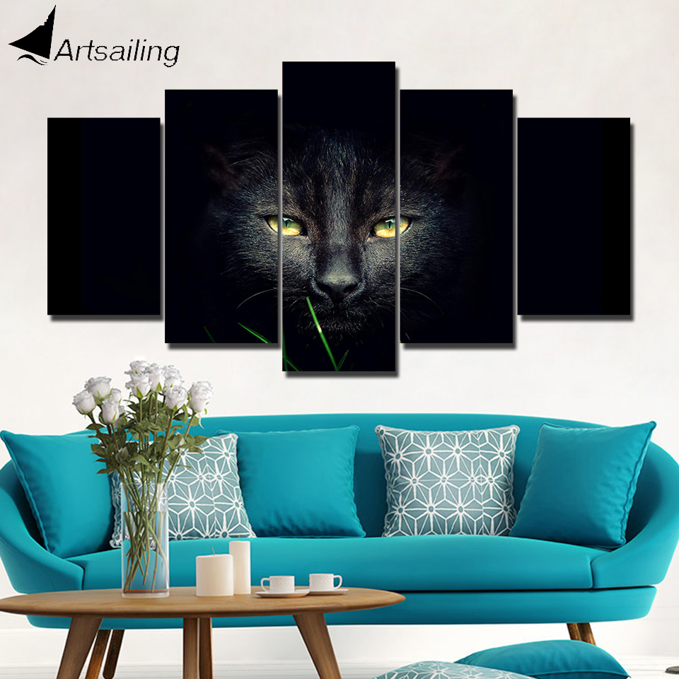 Artsailing Hd Print 5 Piece Canvas Art Modular Pictures
