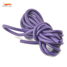 5mm*5/10M Outdoor Natural Latex Purple Tube Stretch Elastic Slingshot Replacement Band Catapults Sling Rubber D