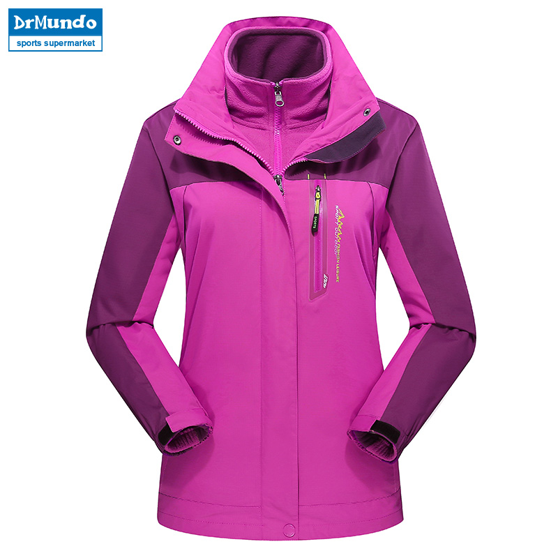Women ski jacket Mountain Thicken Plus Size Fleece Ski-wear Waterproof Hiking Outdoor Snowboard Jacket Windproof Snow Coat detector men ski jacket hight waterproof mountain hiking camping jacket fleece hight windproof ski jacket