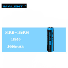 1 pc  IMALENT MRB-186P30 3.7V 3000mAh 15A Li-Ion battery high-performance rechargeable for high-power LED freshlights