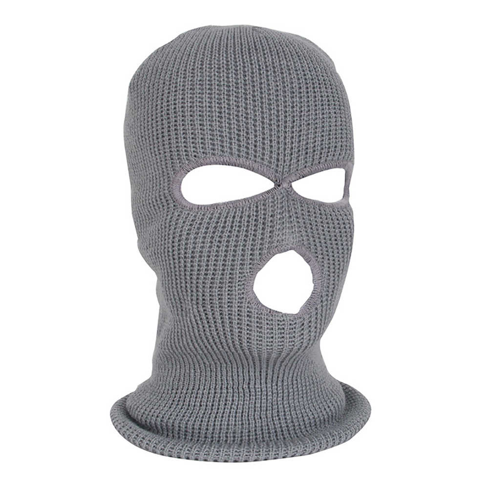 37c9fdf2489 ... New Army Tactical Winter Warm Ski Cycling 3 Hole Balaclava Hood Cap Full  Face Mask ...