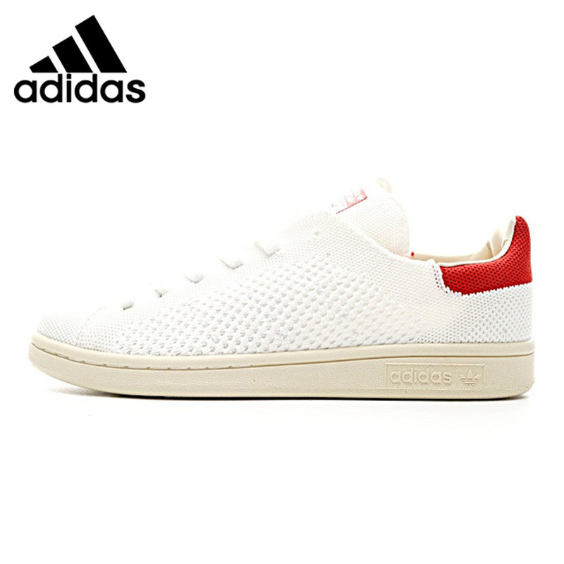 Adidas Shamrock STAN SMITH OG Men and Women Walking Shoes, Red/ White, Breathable Wear-resistant Lightweight S75147 S81036 adidas stan smith shamrock men s and women s walking shoes pink grey balance lightweight breathable s75075 s80024